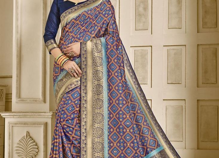 Latest Silk Saree Designs 2020