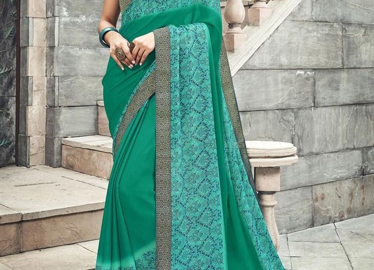 Office Wear Designer New Saree Designs 2020 Images