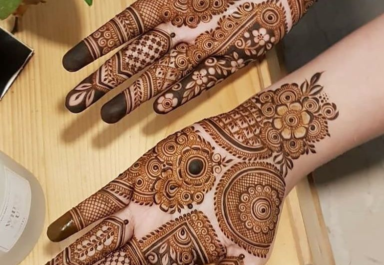 Simple Bridal Mehndi Designs 2020 For Full Hands New Easy Mehndi Collection