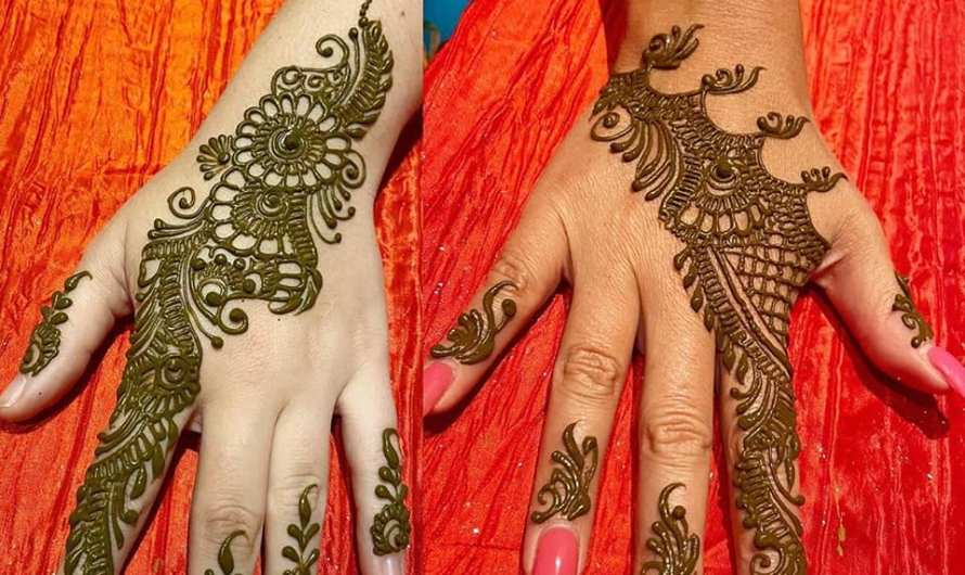 20+ Latest Beautiful Arabic Mehndi Designs 2020 For Your Wedding