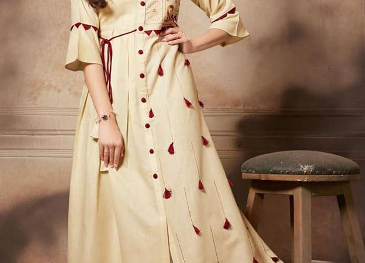 20+ Latest Indian Function Wear Stylish Kurti Designs 2020 With Palazzo And Trousers