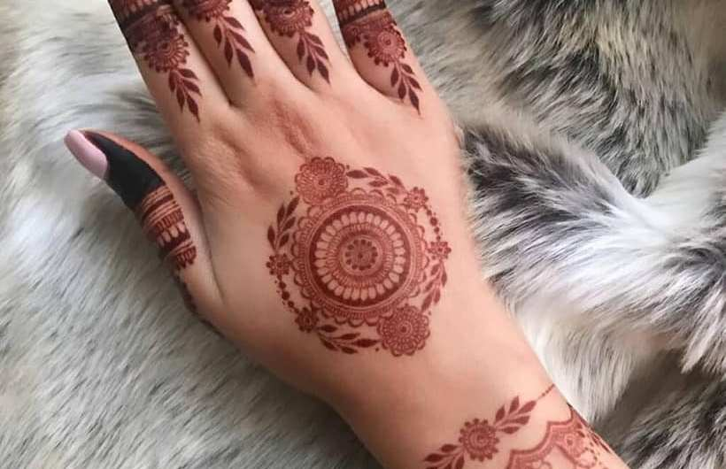 Latest Bridal Easy Mehndi Designs For Hands And Fingers 2020