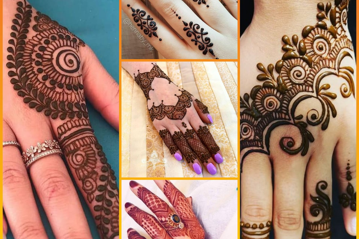 Latest Eid Style New Mehndi Designs Images 2020 For Hands