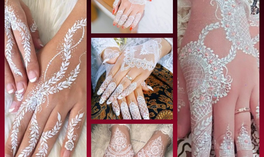 Latest White Henna Mehndi Designs 2020 Trends For Wedding