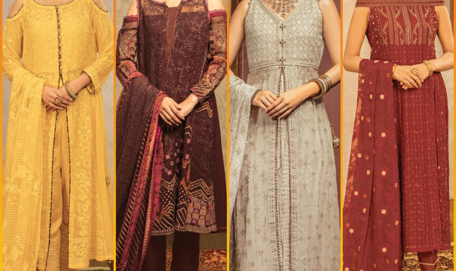 Edenrobe Exclusive Festive Unstitched Eid Collection 2020 For Women