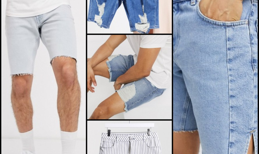 New Essentials Crazy Denim Shorts For Men 2020 Hot Styles