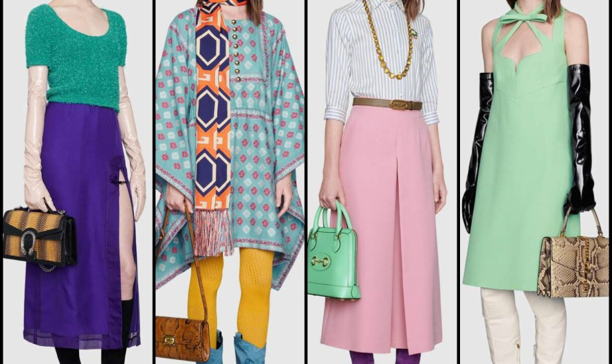 Ready To Wear Gucci Pre-Fall 2020 Women Dresses Collection