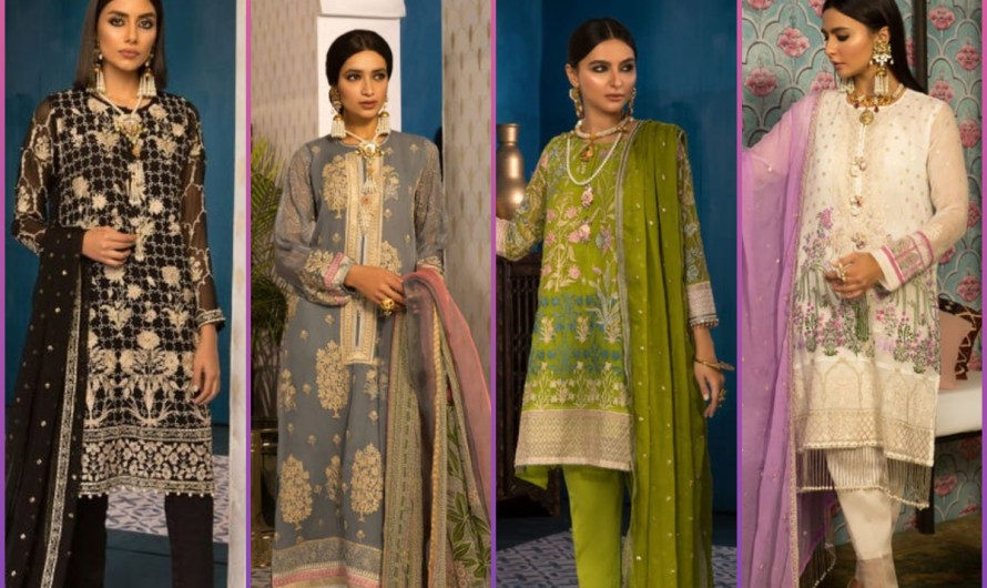 Schiffli Embroidered Latest Khaadi Eid Collection Feel The Moment Of Eid 2020