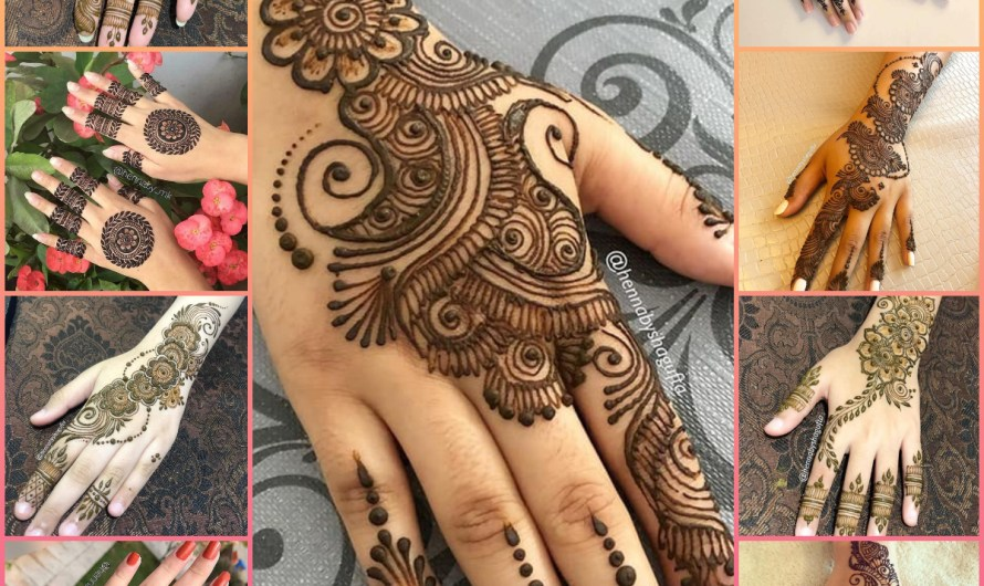 Engagement Arabic Style Simple Henna Latest Easy Mehndi Designs 2020 Images