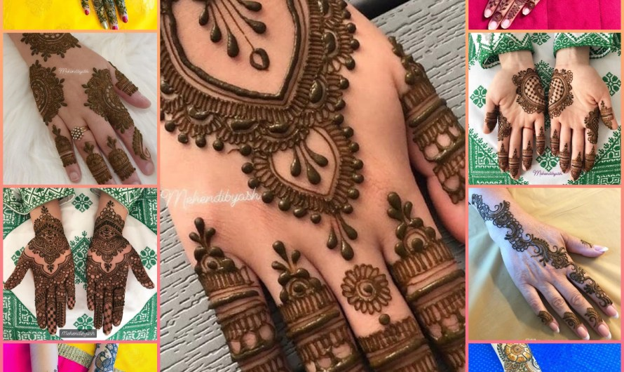 Very Simple New Stylish Bridal Easy Mehndi Designs Images 2020 Latest Ideas For Girls