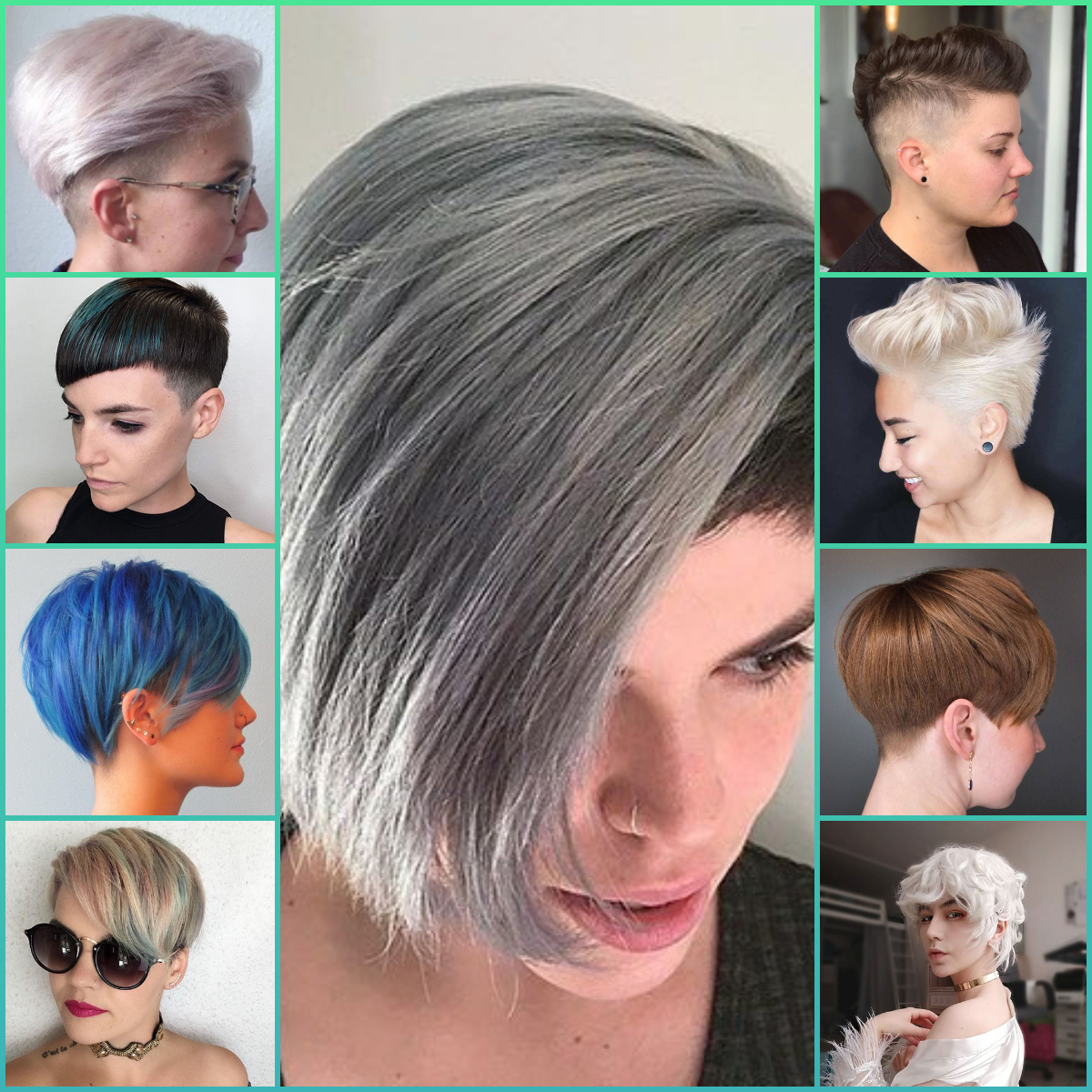 Pixie Cut Hair 2020 Different Types Of Women Short Hairs |