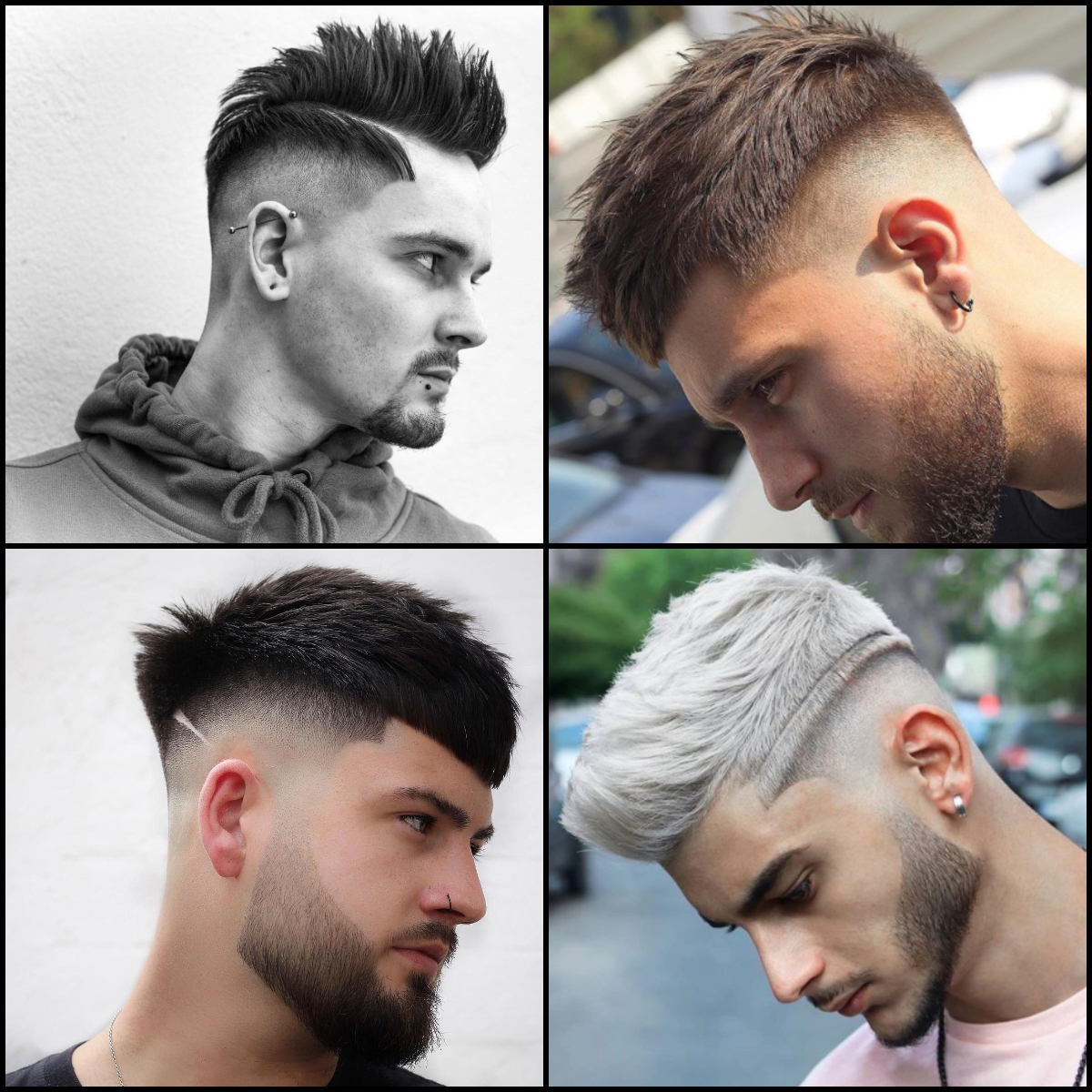 Short Sides Most Stylish Men Haircuts 2020 2021 New Hairstyles Collection 15 Arabic Mehndi Design