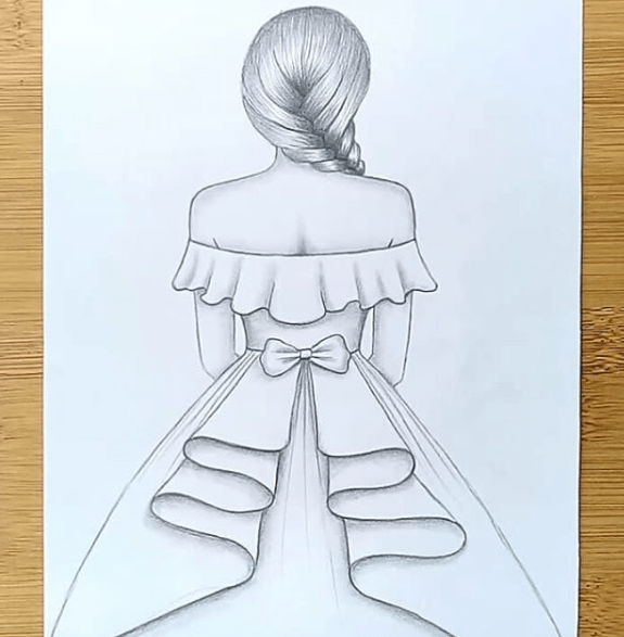 Drawing Easy Ideas For Girls With Pencil