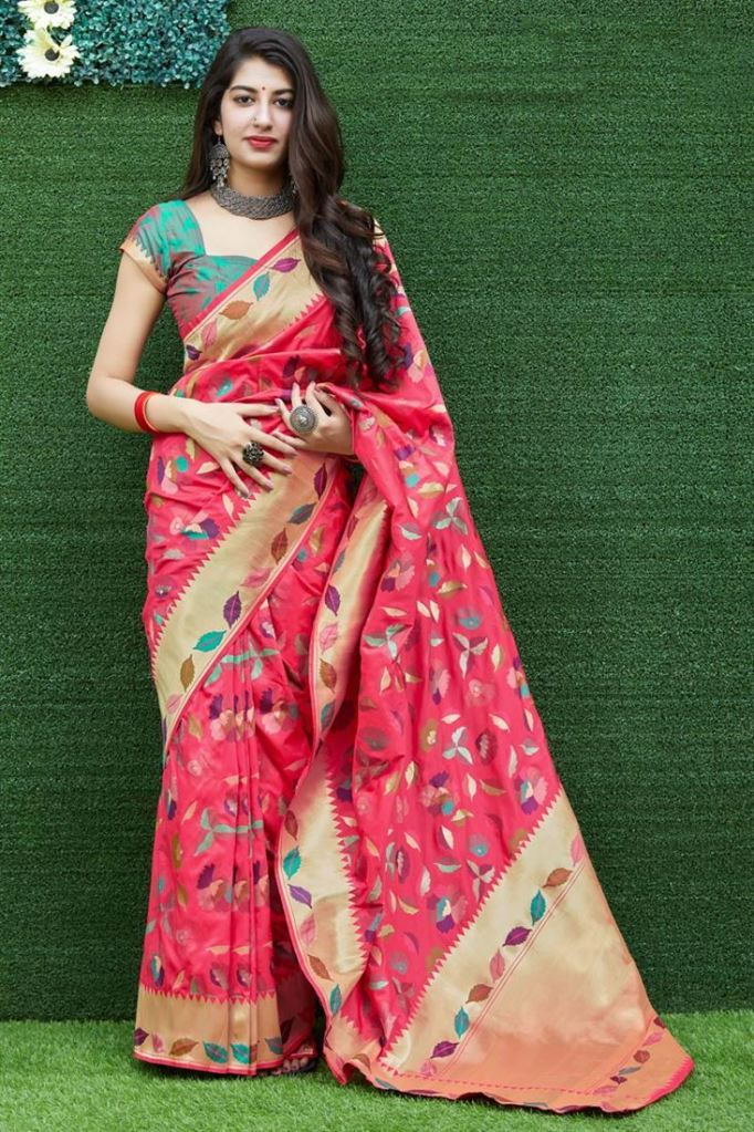 silk saree designs 2020