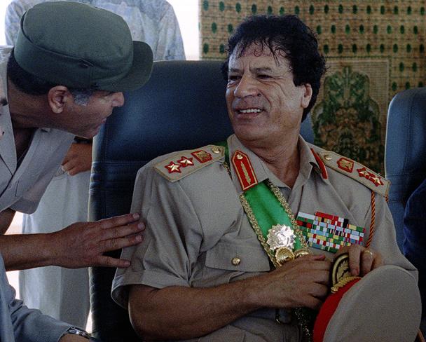 رويترز/ معمر القذافي