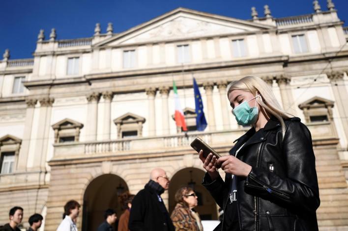 الصين تحاول الترويج لمقولة إن أوروبا مصدر الفيروس/رويترز