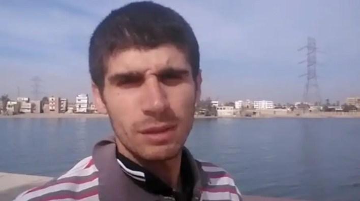 البحار السوري محمد عائشة