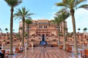 Das Emirates Palace ist DAS Hotel in Abu Dhabi