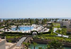 Hotel im Oman mit Privatstrand