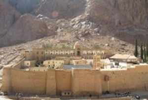 Das Katharinenkloster in Ägypten