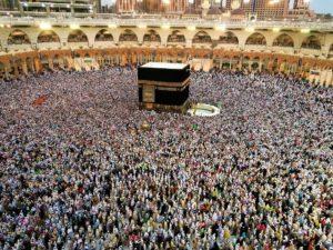 Die Kaaba in Mekka