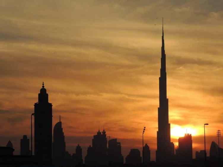 Das höchste Gebäude der Welt steht in Dubai, VAE