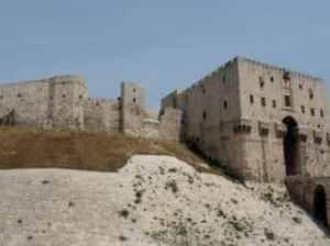 Syrien: Festung bei Aleppo