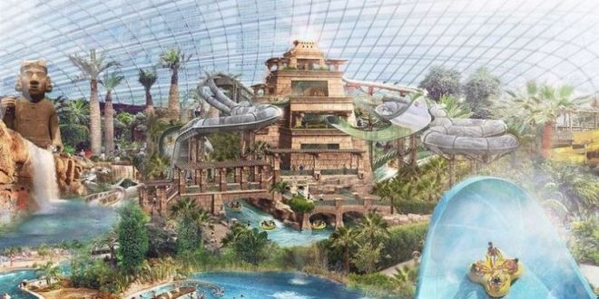 البريطانيون على موعد مع أكبر مدينة ألعاب مائية فى العالم تعر ف