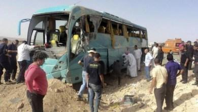 Photo of مقتل 14 وإصابة 42 في حادث مروري بمصر