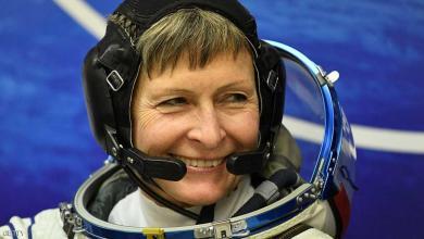 "Photo of رائدة فضاء تعود للأرض بعد ""رحلة قياسية"""