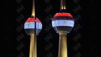 Photo of العلم المصري يكسو «أبراج الكويت» تضامنا مع ضحايا «الروضة»
