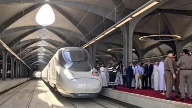 Photo of مكة تستقبل أول رحلة رسمية لقطار الحرمين