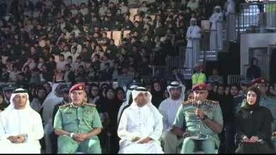 Photo of شرطة أبوظبي تدخل موسوعة غينيس بـأكبر حلقة شبابية