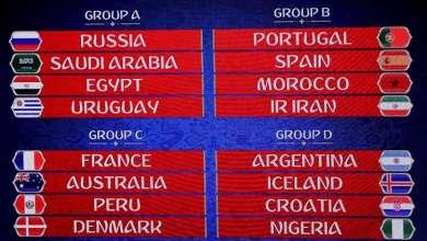 Photo of الفيفا يعدل مواعيد 6 مباريات في مونديال روسيا