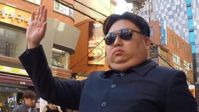 Photo of شاهد ماذا يفعل المارة مع شبيه زعيم كوريا الشمالية