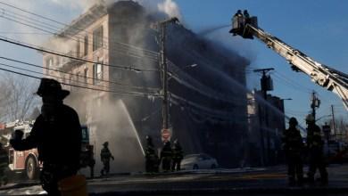 Photo of بعد أيام على مقتل 12.. حريق جديد بنفس الحي في نيويورك