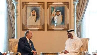 Photo of ولي عهد أبوظبي يلتقي زعيم الطائفة الإسماعيلية في العالم الآغا خان