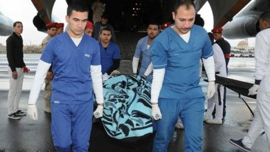 Photo of بالصور.. مصابو تفجير بنغازي في مصر لتلقي العلاج