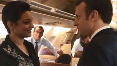 Photo of الصدفة تحمل تونسية على مرافقة ماكرون في طائرته الرئاسية