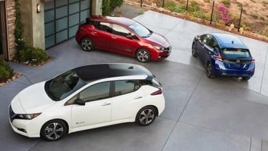 "Photo of ""نيسان ليف"" أول سيارة كهربائية تفوز بجائزة ""سيارة العالم الخضراء"""