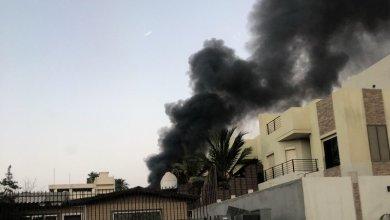 Photo of حريق كبير يهز وسط القاهرة ويلتهم أحد المتاحف