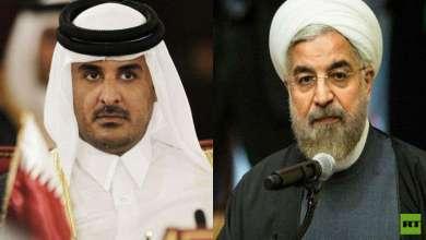 Photo of في اتصال هاتفي مع أمير قطر.. روحاني يدعو الدول الإسلامية لرد قوي على جرائم إسرائيل