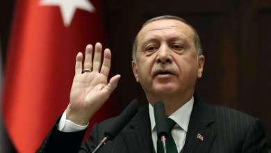 "Photo of أردوغان في ""خطاب النصر"" يؤكد مواصلة بلاده التقدم في سوريا"