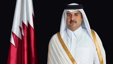 Photo of أمير قطر والرئيس الأمريكي يبحثان باتصال هاتفي التعاون المشترك