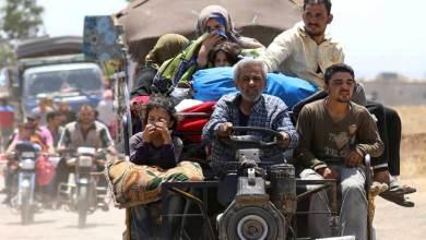 "Photo of ""هيومن رايتس ووتش"" تدعو إسرائيل والأردن إلى فتح الحدود أمام السوريين الفارين من درعا"