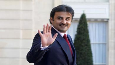 "Photo of أمير قطر يبدأ زيارته لفرنسا من قاعدة ""مون دومارسان"" الجوية"