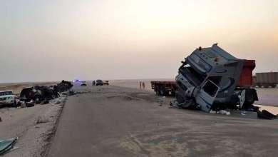 Photo of بالصور.. حادث سير مروع يودي بحياة 7 سعوديين في عمان