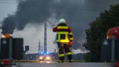 Photo of اندلاع حريق كبير بمصفاة للنفط في ألمانيا