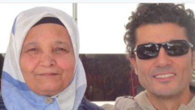 Photo of وفاة والدة الفنان خالد النبوي