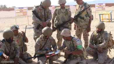 "Photo of ""تبوك 4"".. تدريبات عسكرية مصرية سعودية مشتركة"